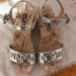 Girls Michael Kors Wedge Sandals
